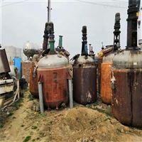 梁山长期低价出售二手30吨钛材反应釜