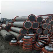 回收閑置二手316材質列管冷凝器