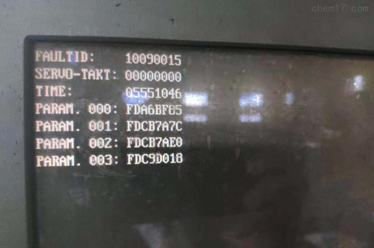 西门子802C进不了操作界面/铣床修理