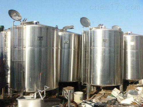 常年大量回收不锈钢304食品级储罐