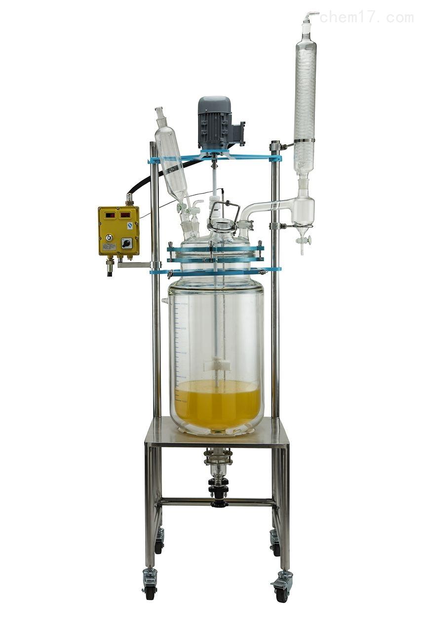 双层玻璃反应器