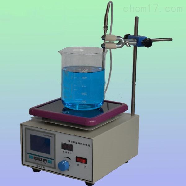液晶数显程序磁力(加热板)搅拌器
