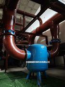 螺旋微泡排氣除污裝置一級過濾系統