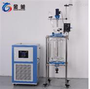 30L雙層玻璃反應釜湖北武漢廠家價格