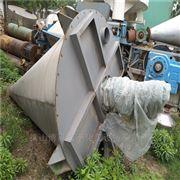 闲置出售二手10吨不锈钢锥形混合机