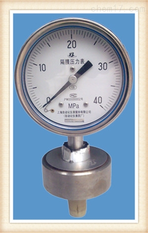 Y-60BFZ压力表