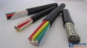 七芯屏蔽拉力电缆