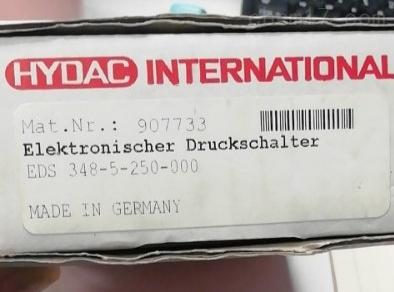 德国贺德克HYDAC传感器型号齐全