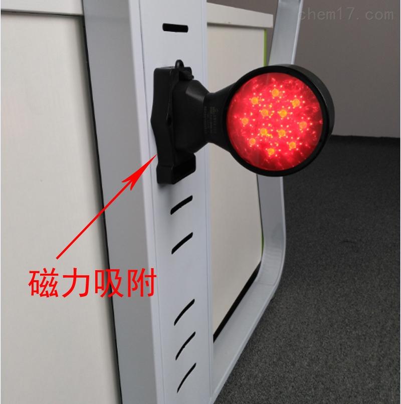 FW5832红色长亮频闪灯强性磁座双面信号灯