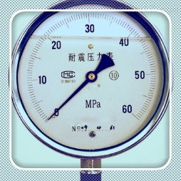 Y-100B-F电接点压力表