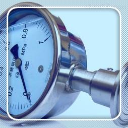 Y-100B-F304不锈钢压力表