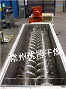 处理30吨/天印染污泥空心浆叶干燥机