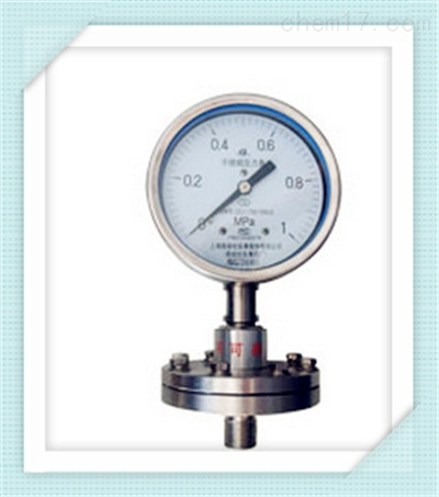 Y-100A/Z/ML(B)/316L不锈钢隔膜压力表