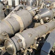 二手四效6吨不锈钢蒸发器机价格