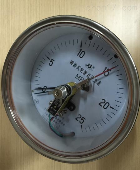 YXC-100BFZ不锈钢耐震压力表
