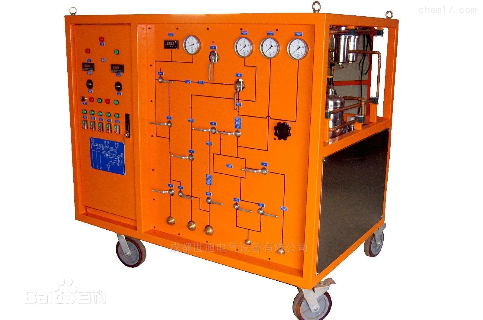 成都SF6气体回收装置抽气速率≥40M3H
