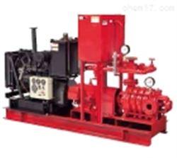 日本川本灭火泵带应急动力装置KTY-ET型