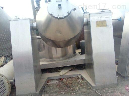 大量回收二手2000L双锥回转真空干燥机