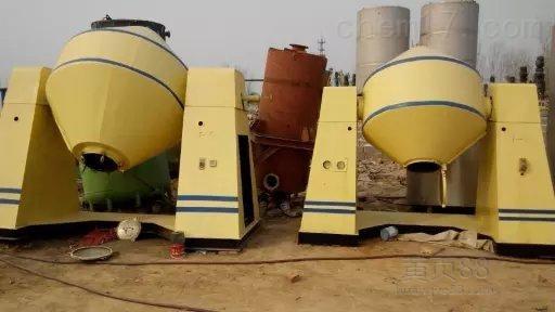 大量回收二手2千塘瓷双锥干燥机