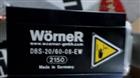 WOERNER威納GFM係列齒輪泵DUK-A/1.95/0
