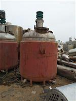 转让二手3吨不锈钢反应釜供应
