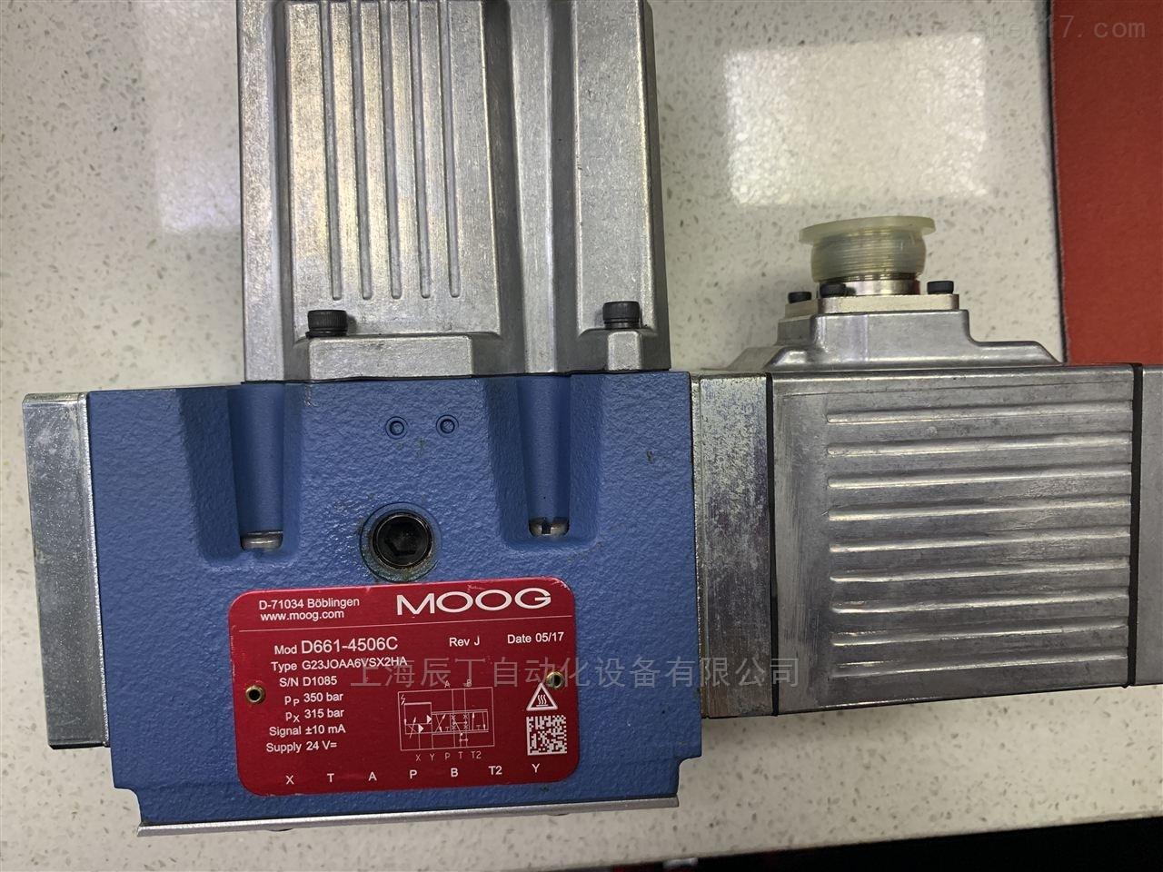 穆格MOOG伺服阀D634-319C上海代理现货