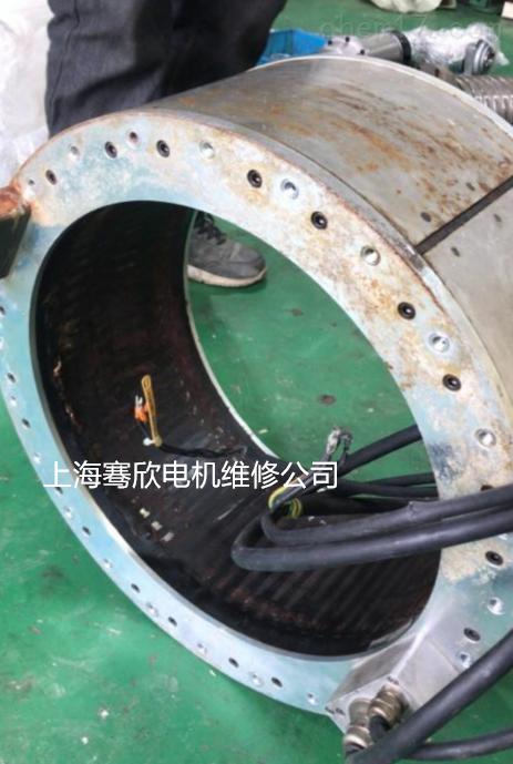 西门子840D力矩电机线圈烧坏-十年修理经验