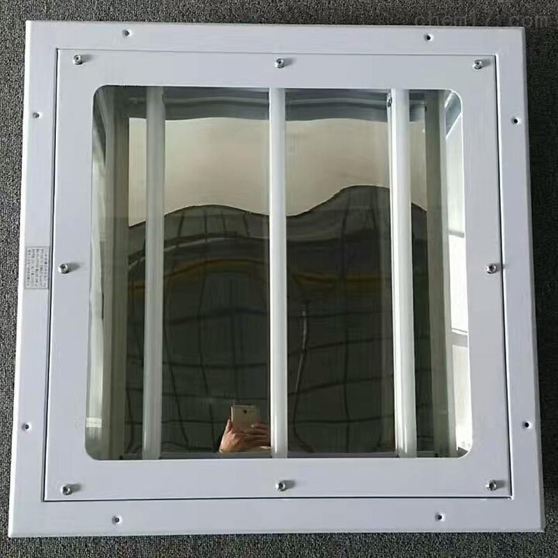 BAY化工车间方形格栅平板灯|防爆洁净灯