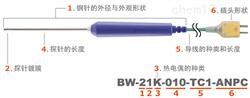 日本安立计器食品用内部温度传感器BW系列