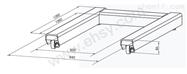 SCS-U1T带打印功能U型电子平台地磅秤厂家