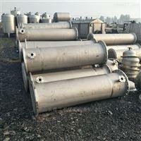 低价转让二手不锈钢冷凝器全套处理