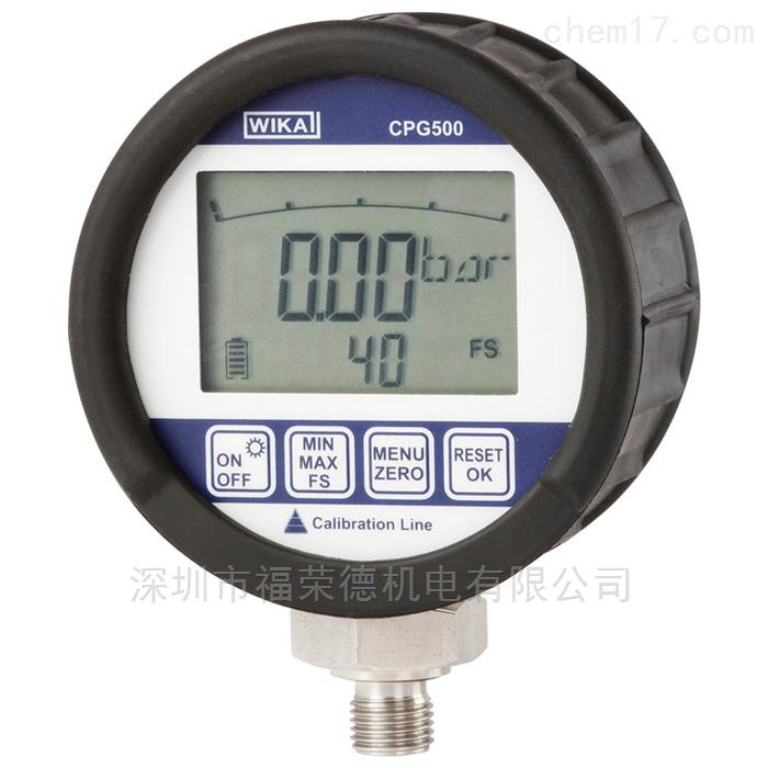进口高精度WIKA数字压力表CPG500