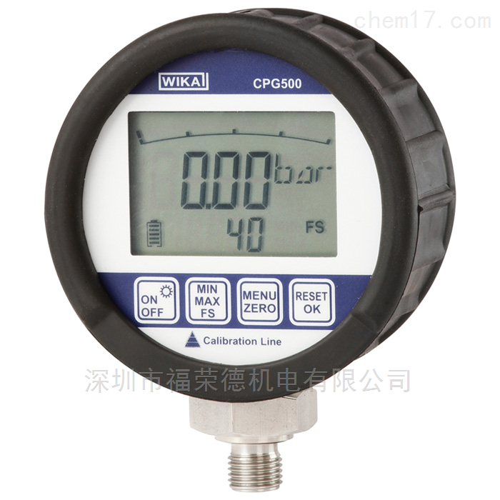 WIKA高精度数字式压力表精密仪表