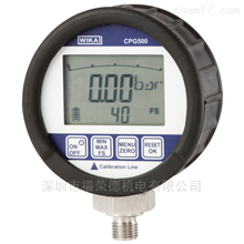 CPG500进口高精度WIKA数字压力表CPG500