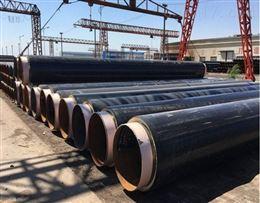直埋式预制保温管及管件一次成型工艺