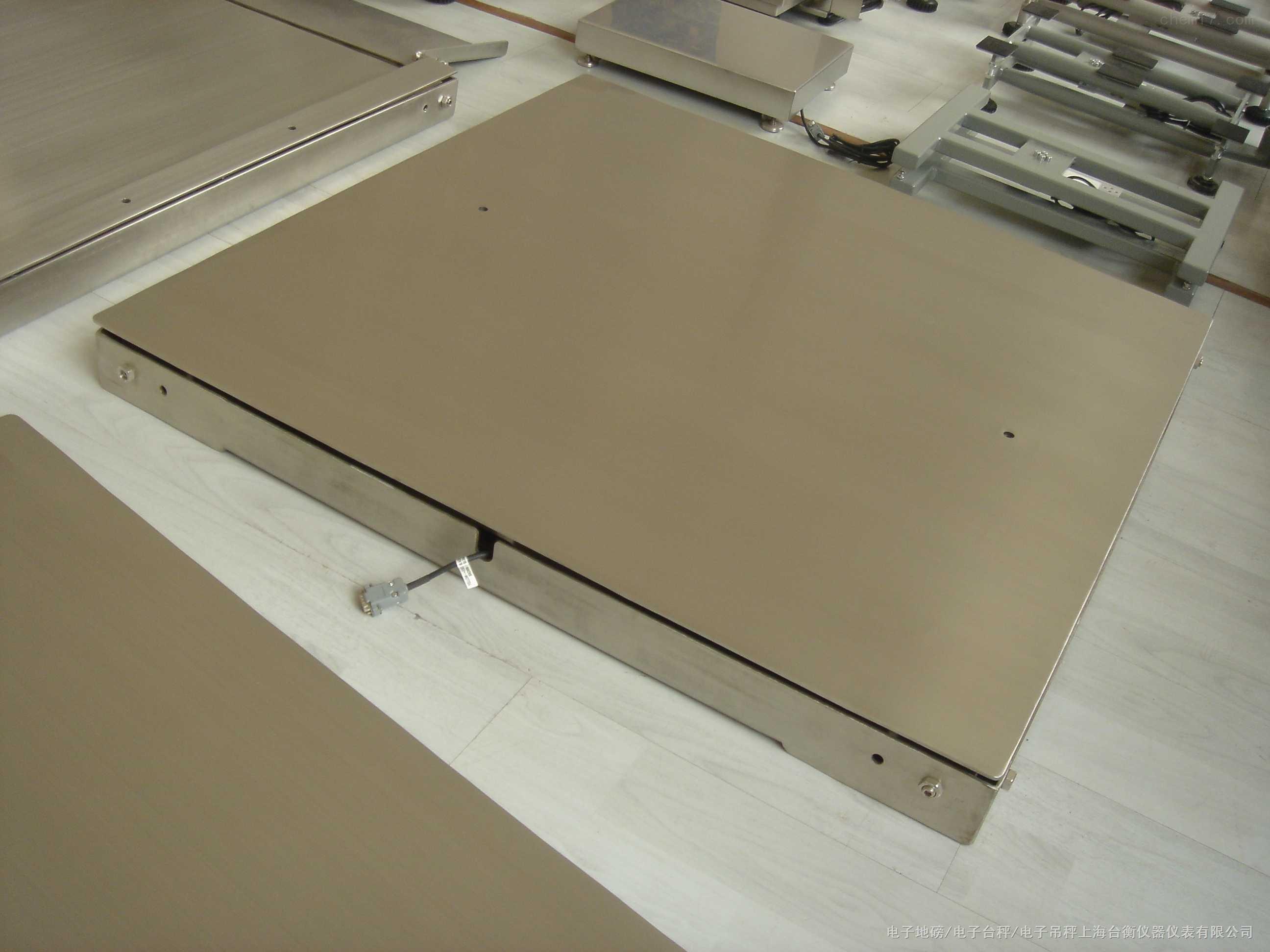 SCS-BW型双层不锈钢电子平台秤