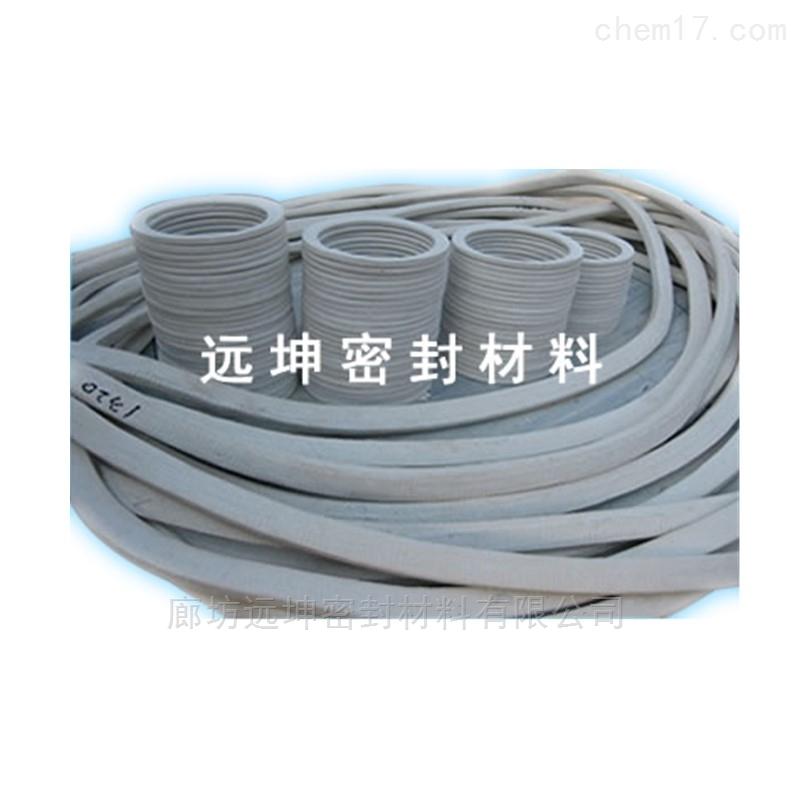 5000升搪瓷反应釜四氟石棉垫片厂家