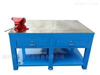 钢板重型桥头钢板重型钳工桌设计图利欣工厂定制批发