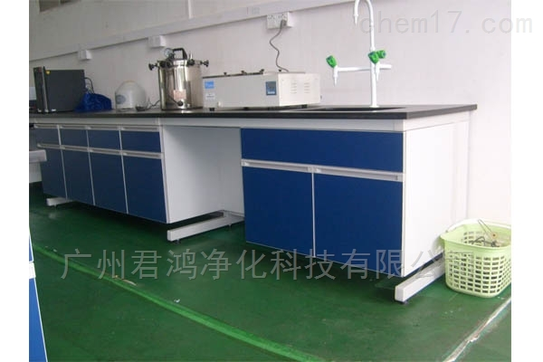 深圳钢木单面理化实验边台