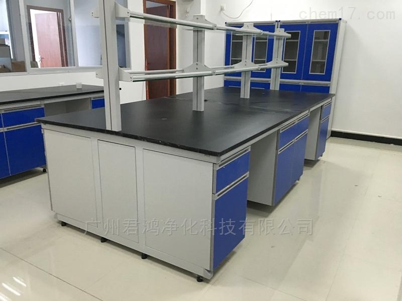 中山全钢带试剂架中央实验台