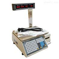 TM上海大华条码标签秤怎么设置15kg条码秤标定