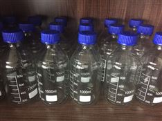 透明棕色(螺口丝口)蓝盖试剂瓶