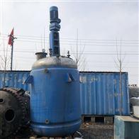 二手1吨不锈钢反应釜低价处理