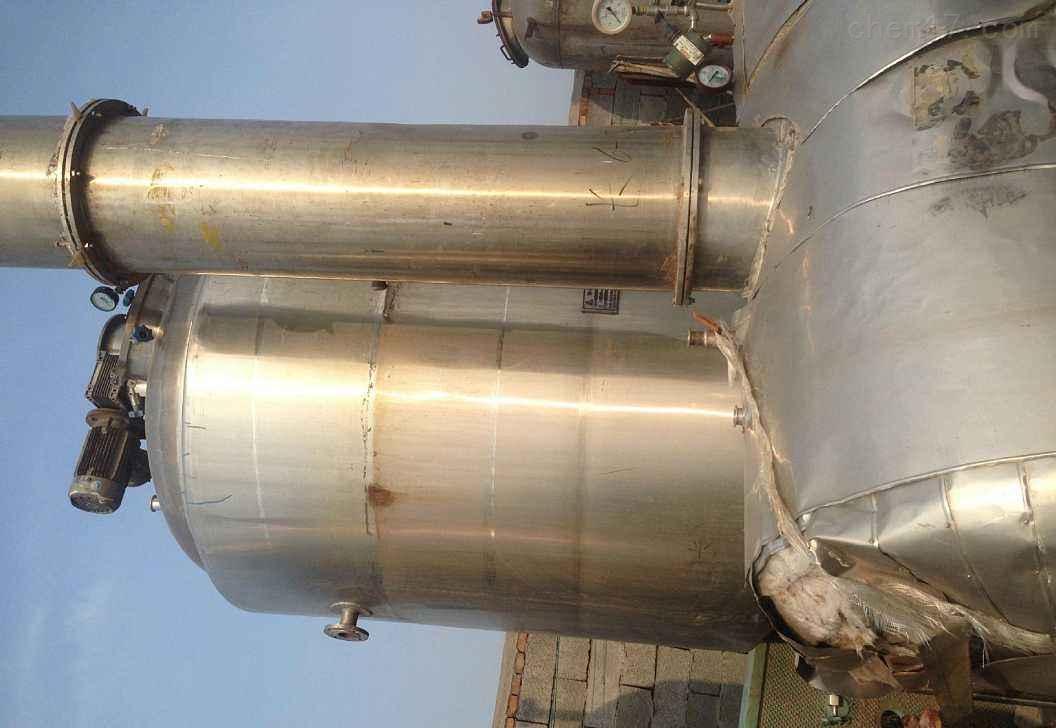 公司常年回收二手不锈钢酒精蒸馏塔