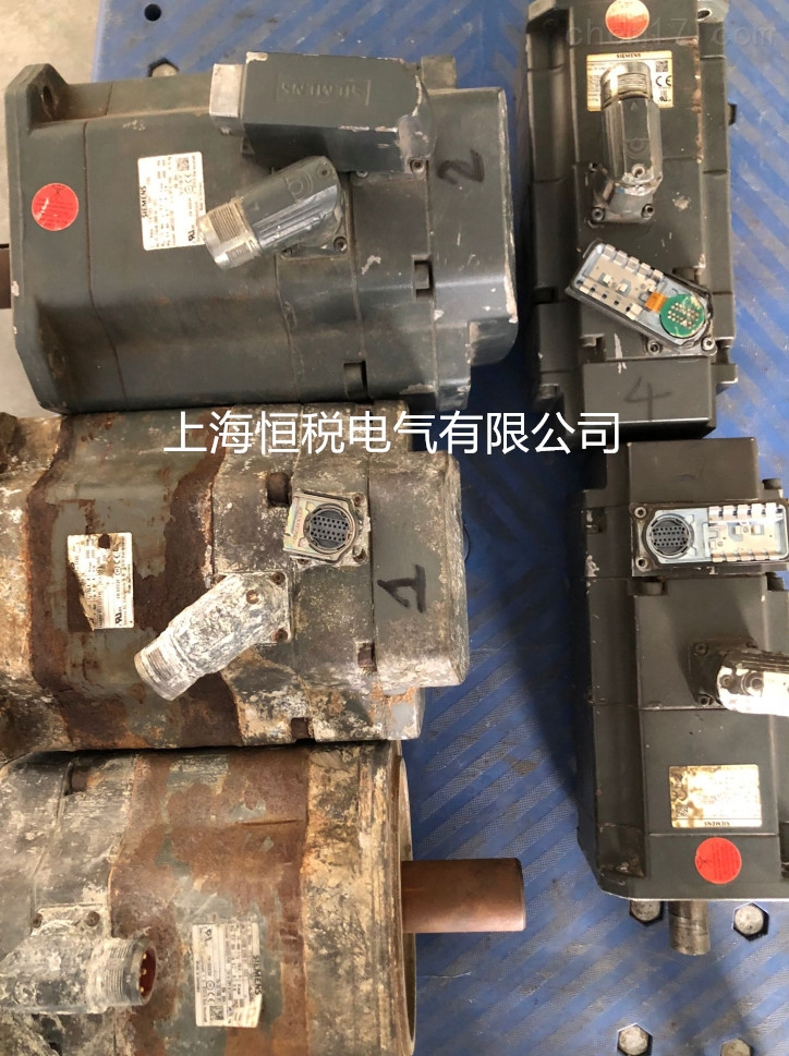 西门子伺服电机温度过高/发烫严重修理