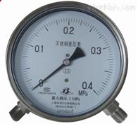 CYW-152B不锈钢差压表CYW-152B上海自动化仪表四厂
