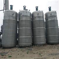大量转让闲置二手10吨不锈钢电加热反应釜