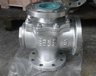 Q45F三通T型球閥