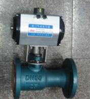 QJ641M氣動一體式高溫球閥