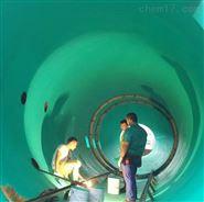 煙道鱗片防腐施工-脫硫煙筒玻璃鱗片施工